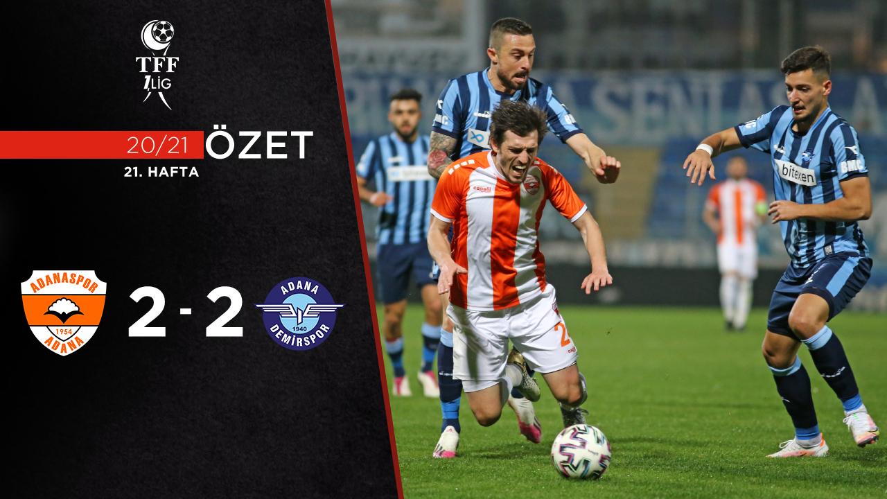 Adanaspor Adana Demirspor maç özeti