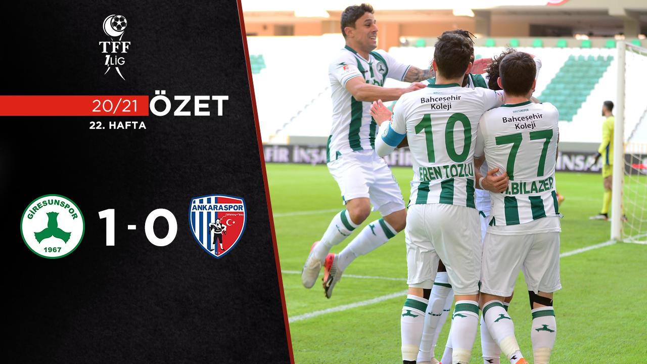 Giresunspor Ankaraspor maç özeti