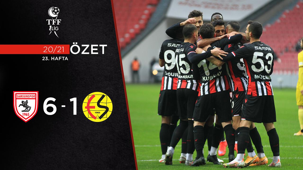 Yılport Samsunspor Eskişehirspor maç özeti