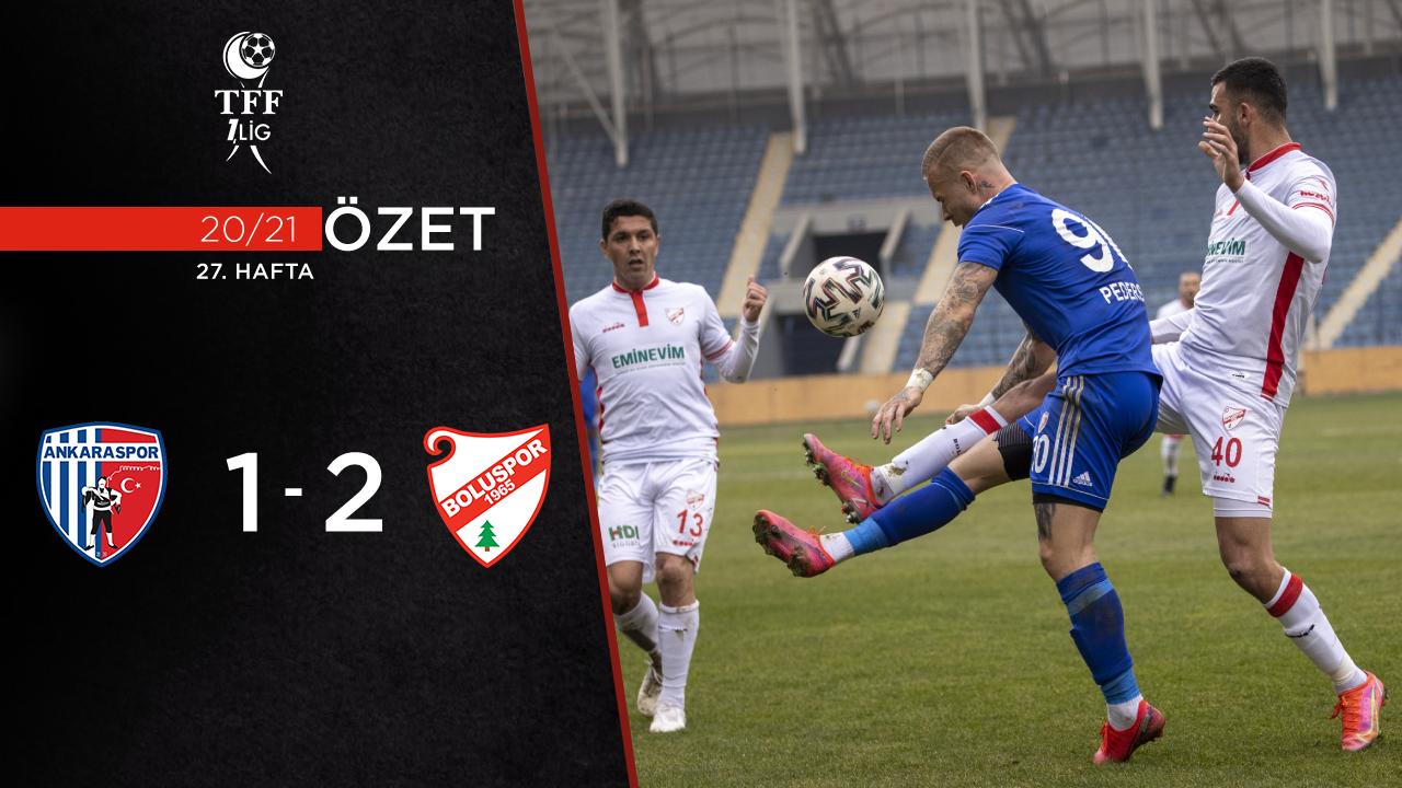 Ankaraspor Beypiliç Boluspor maç özeti