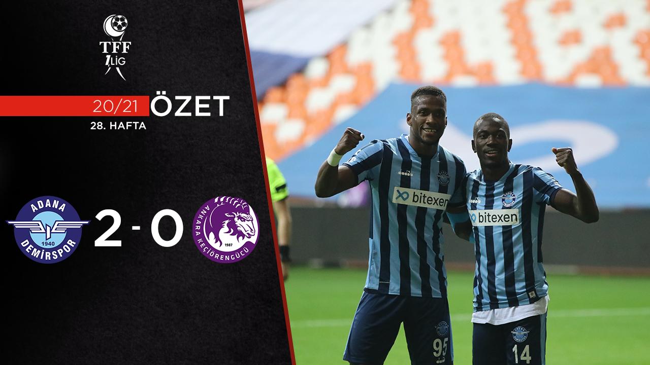 Adana Demirspor Ankara Keçiörengücü maç özeti