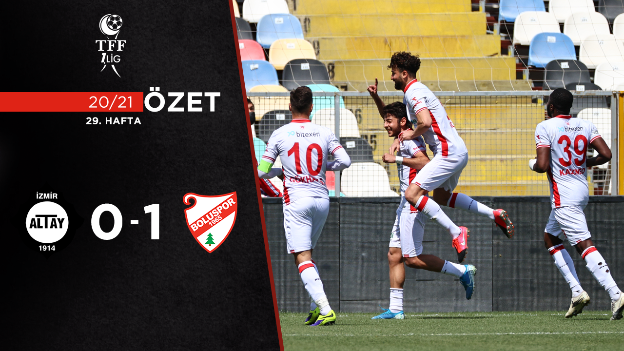Altay Beypiliç Boluspor maç özeti