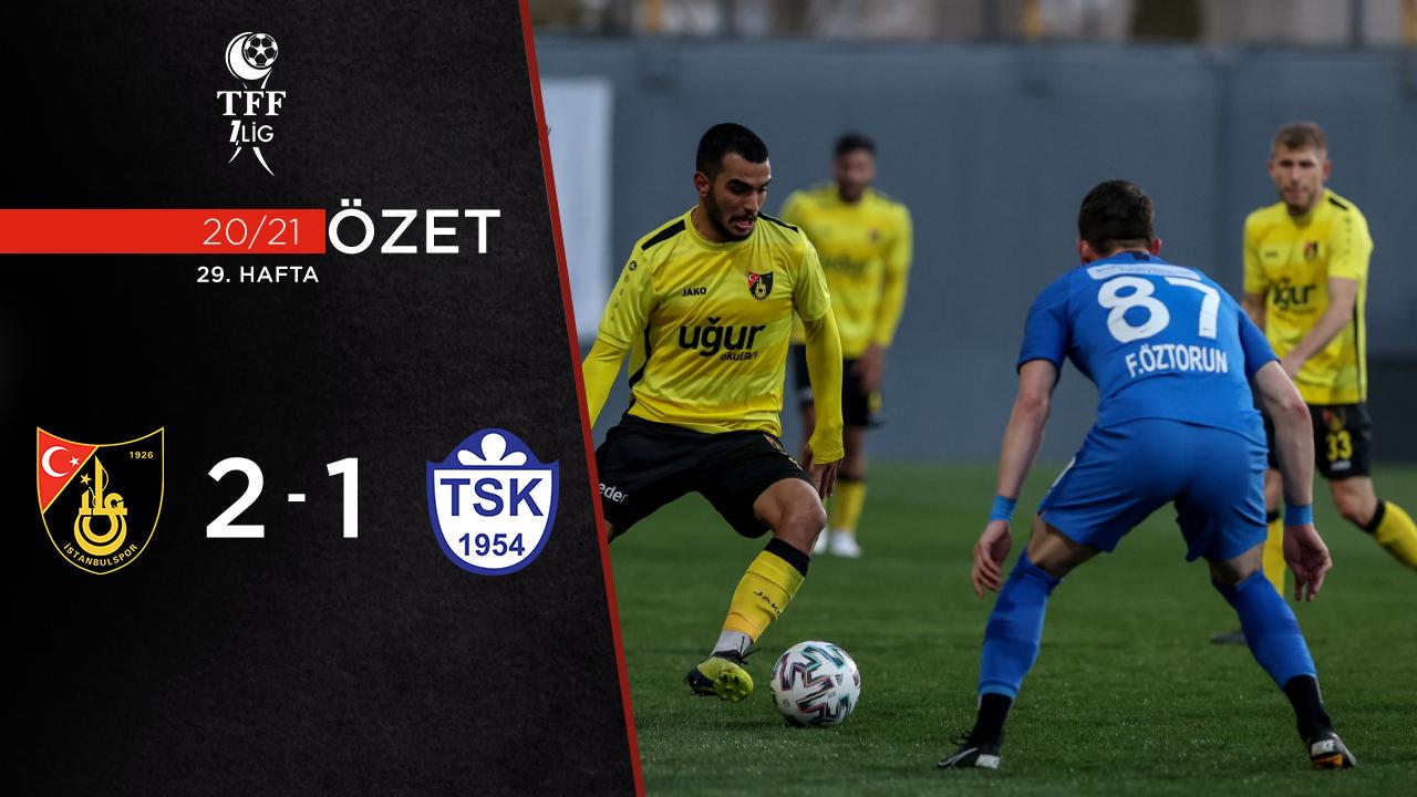 İstanbulspor Tuzlaspor maç özeti