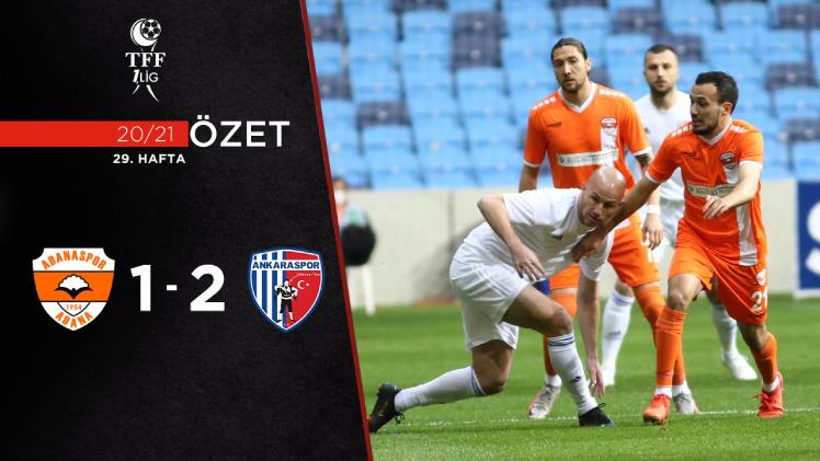 Adanaspor Ankaraspor maç özeti