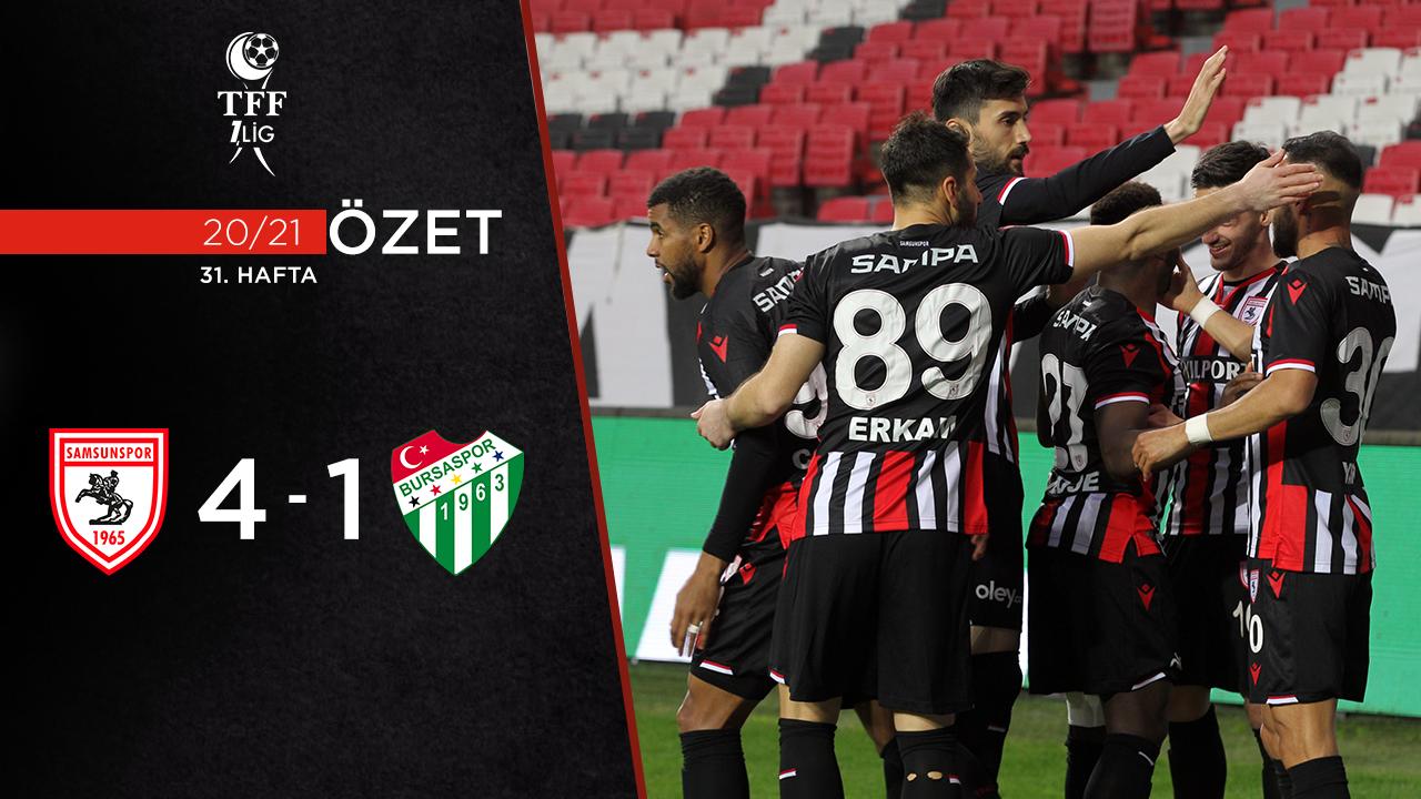 Yılport Samsunspor Bursaspor maç özeti