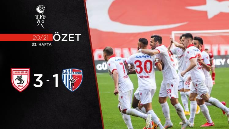 Yılport Samsunspor Ankaraspor maç özeti
