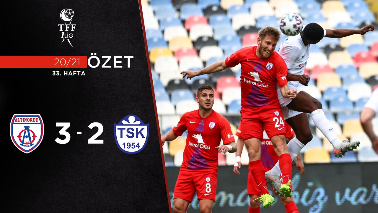 Altınordu Tuzlaspor maç özeti