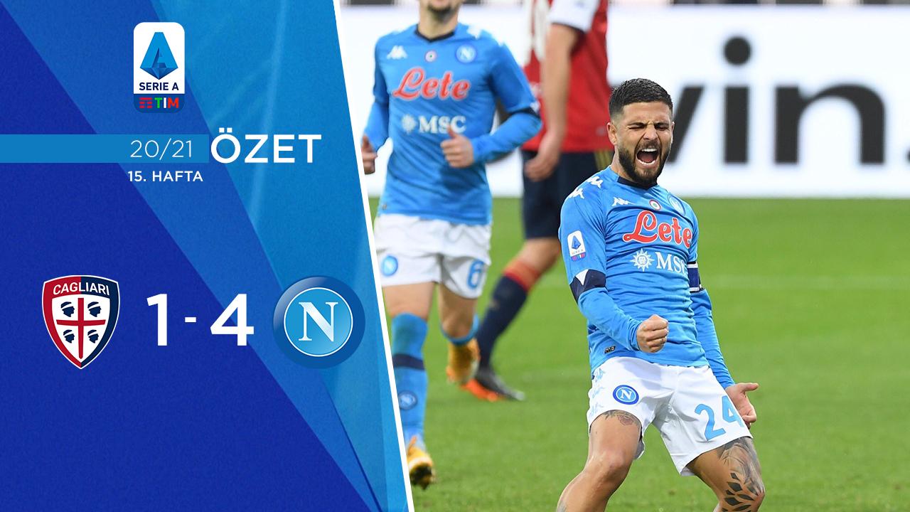 Cagliari Napoli maç özeti