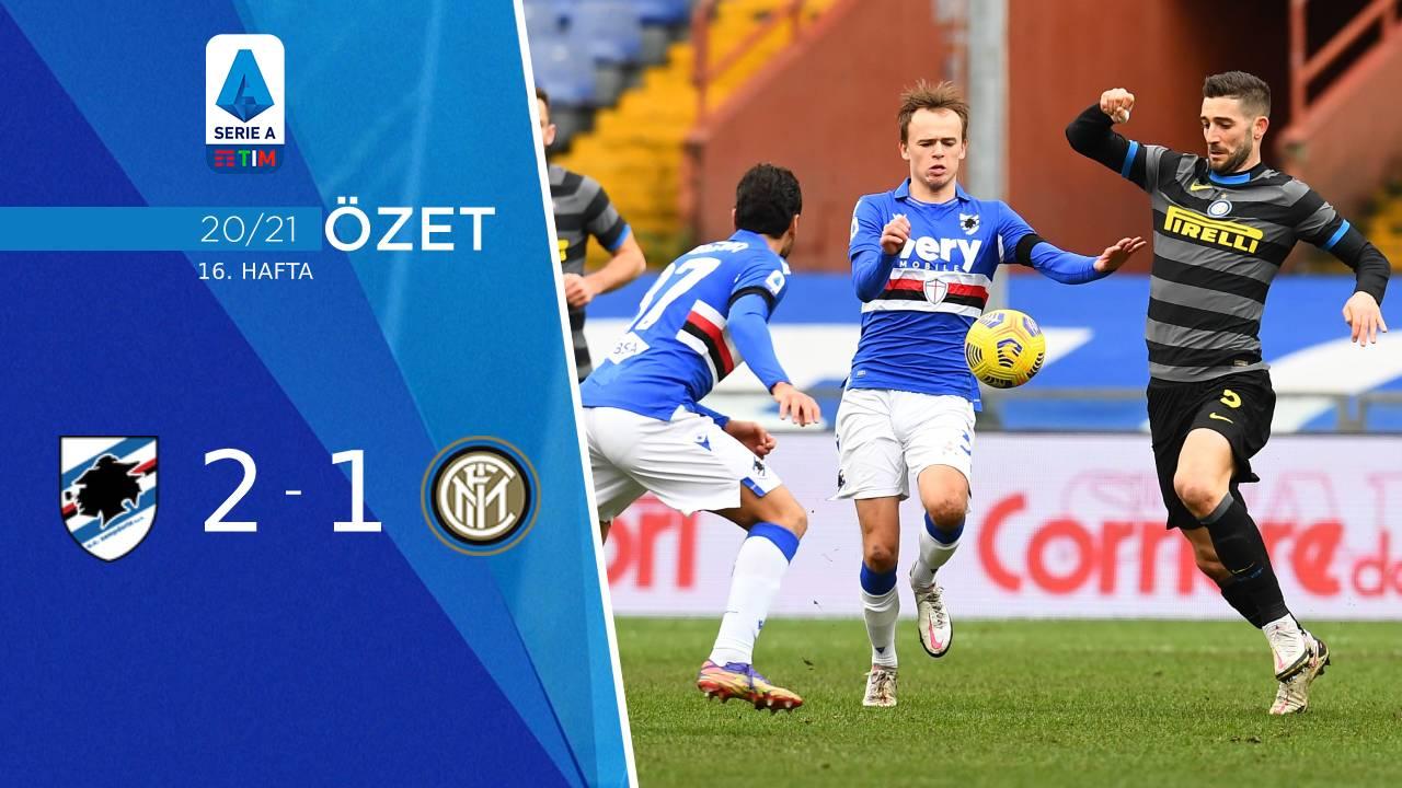 Sampdoria Inter maç özeti