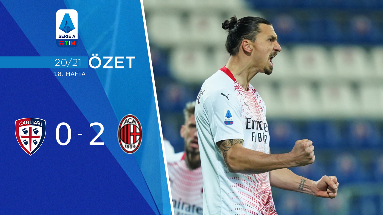Cagliari Milan maç özeti
