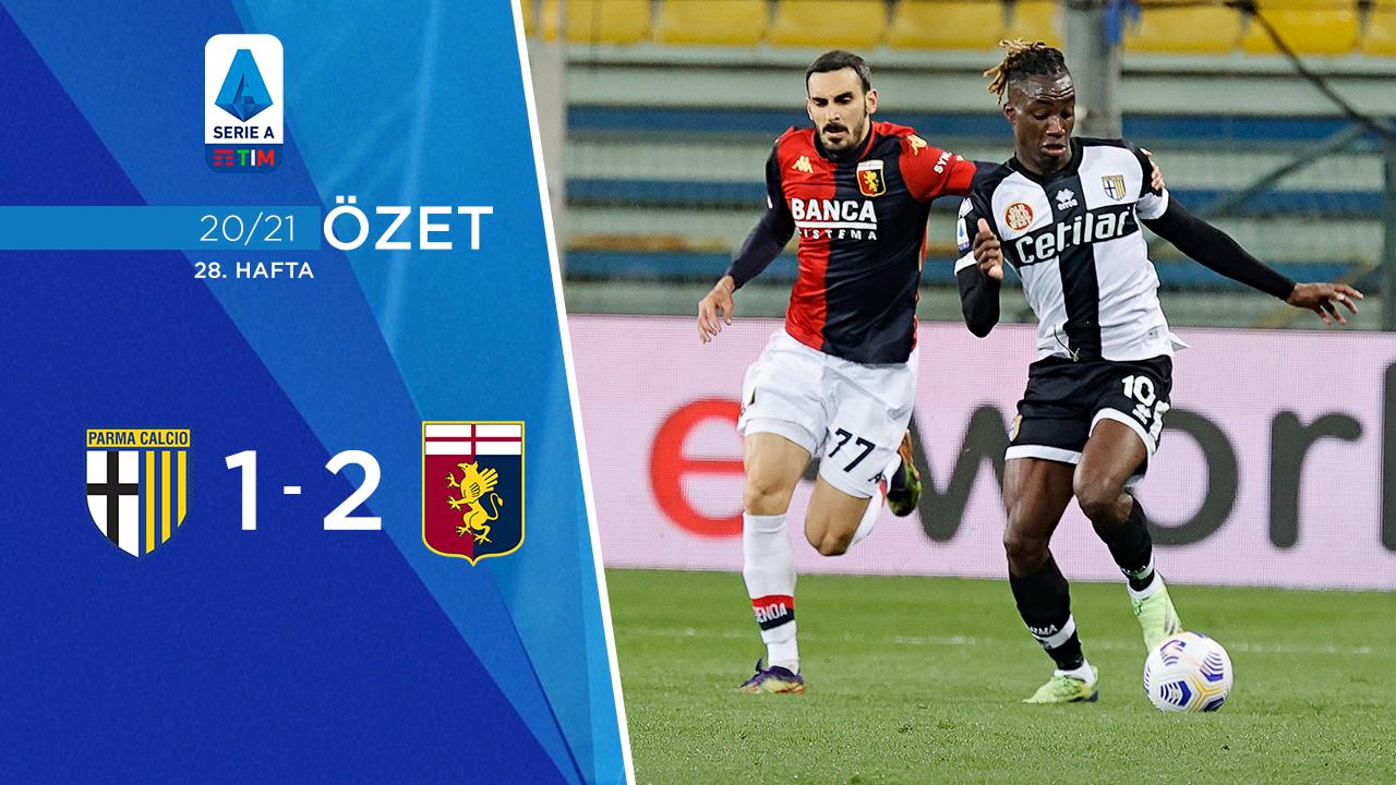 Parma Genoa maç özeti