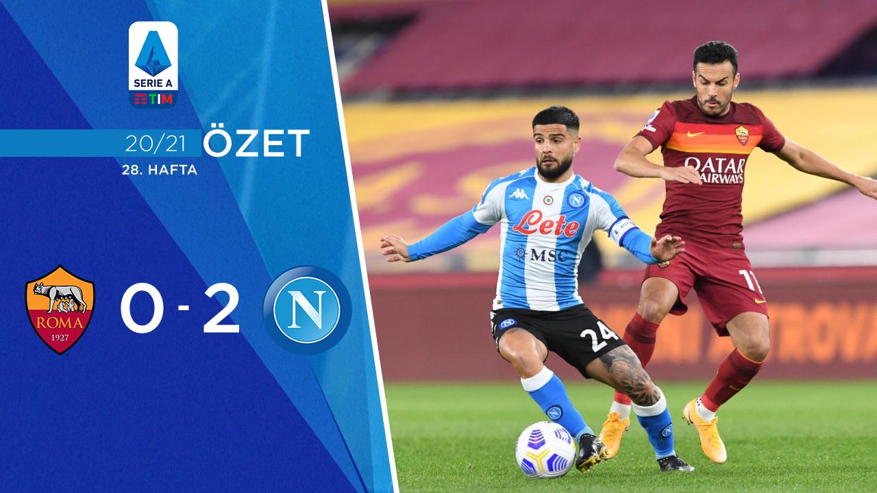Roma Napoli maç özeti