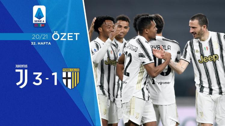 Juventus Parma maç özeti