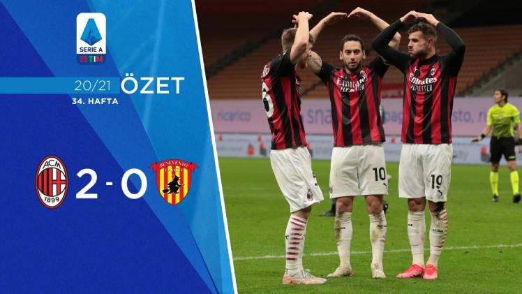 Milan Benevento maç özeti