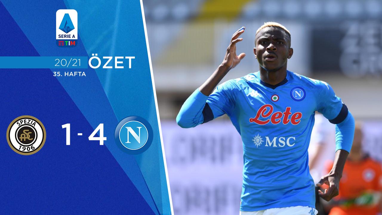 Spezia Napoli maç özeti