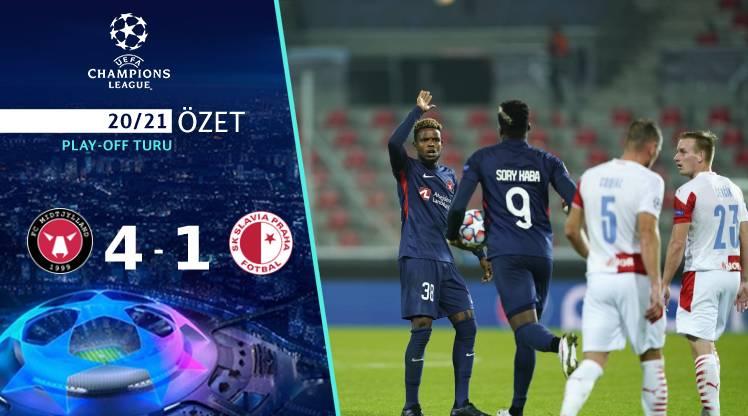 FC Midtjylland Slavia Prag maç özeti