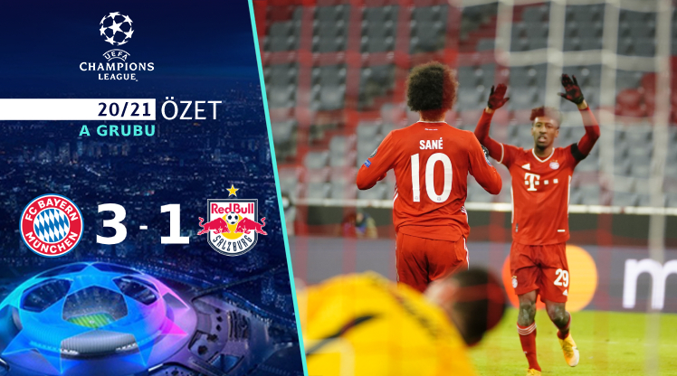 Bayern Münih Red Bull Salzburg maç özeti