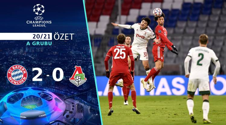 Bayern Münih Lokomotiv Moskova maç özeti