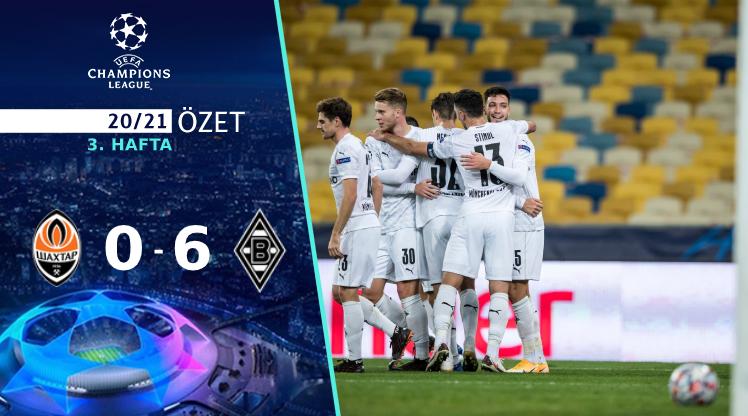 Shakhtar Donetsk M'gladbach maç özeti