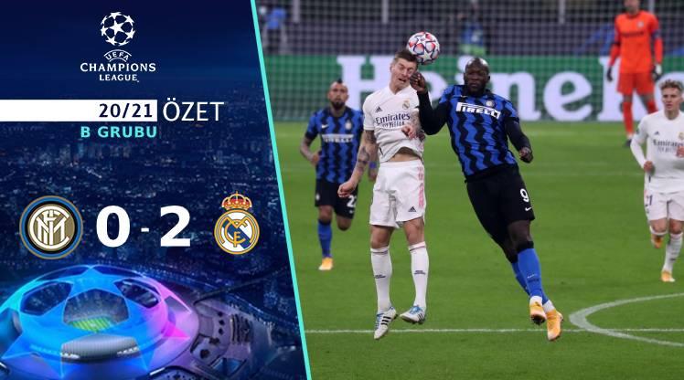 Inter Real Madrid maç özeti
