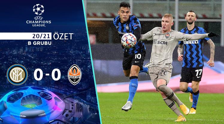 Inter Shakhtar Donetsk maç özeti