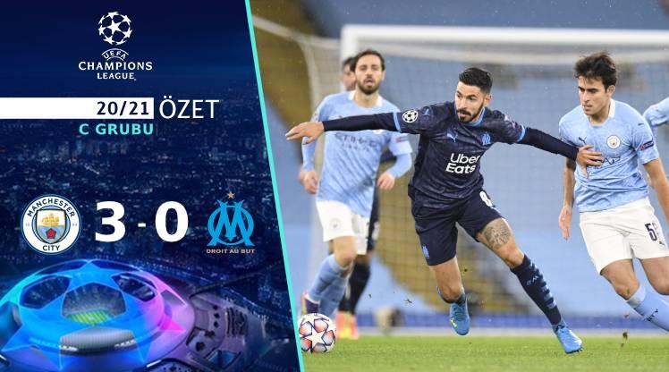 Manchester City Marsilya maç özeti