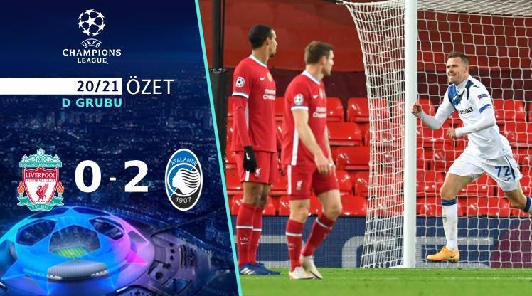 Liverpool Atalanta maç özeti