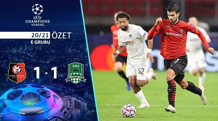 Rennes FC Krasnodar maç özeti