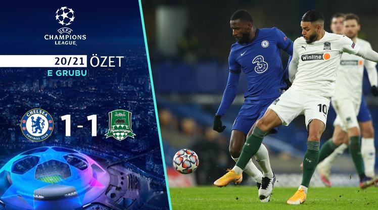Chelsea FC Krasnodar maç özeti