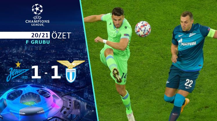 Zenit Lazio maç özeti