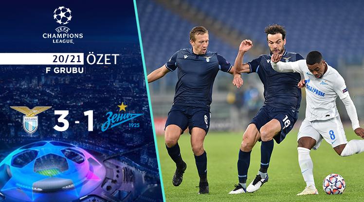 Lazio Zenit maç özeti