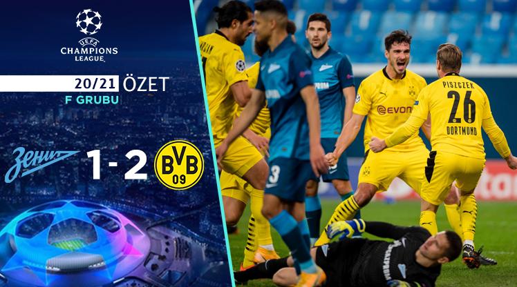 Zenit Borussia Dortmund maç özeti