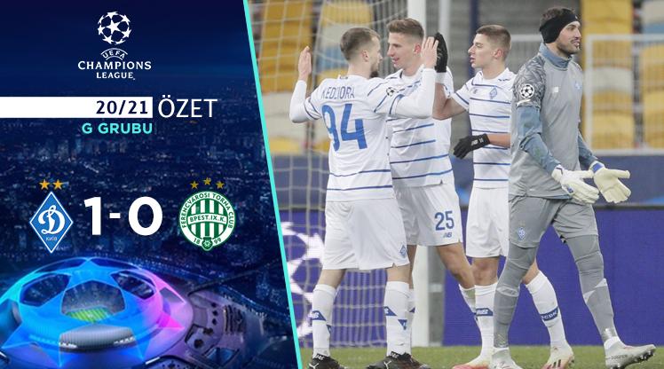 Dinamo Kiev Ferencvaros maç özeti