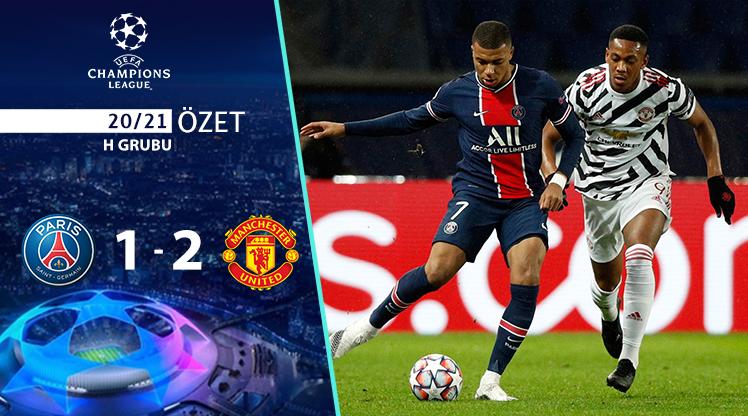 Paris St Germain Manchester United maç özeti