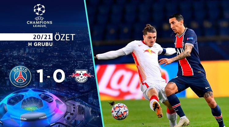 Paris St Germain RB Leipzig maç özeti