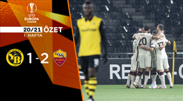 Young Boys Roma maç özeti