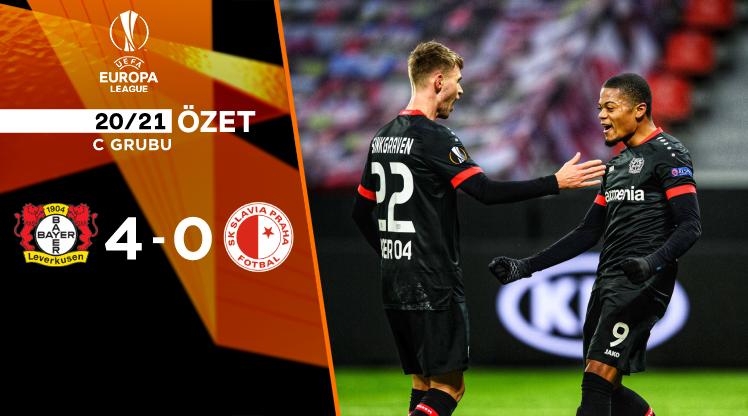 Bayer Leverkusen Slavia Prag maç özeti