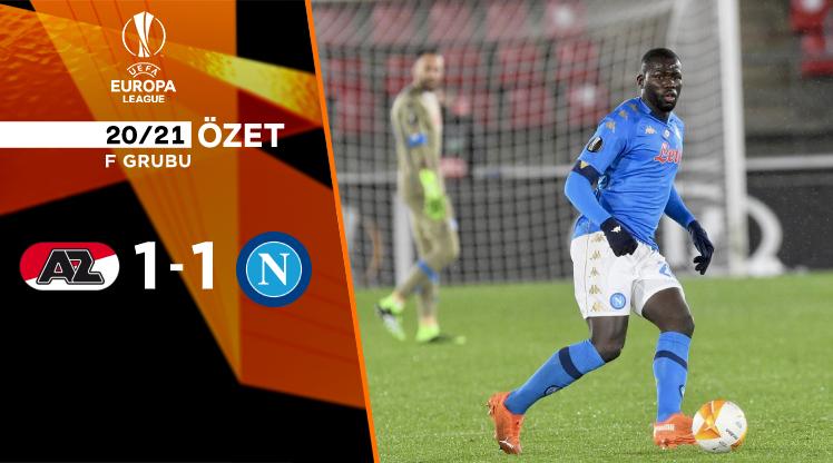 AZ Alkmaar Napoli maç özeti