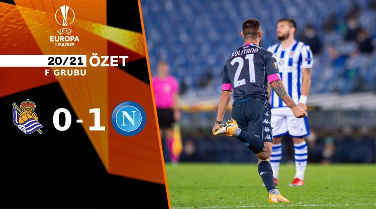 Real Sociedad Napoli maç özeti