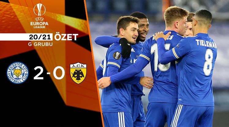 Leicester City AEK maç özeti