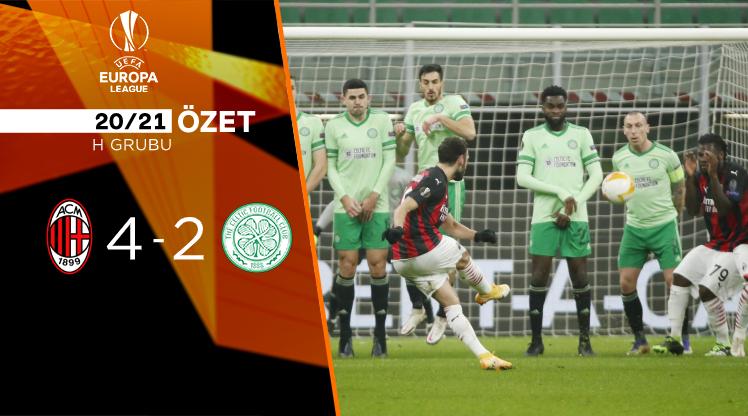 Milan Celtic maç özeti