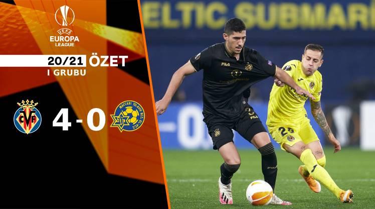 Villarreal Maccabi Tel Aviv maç özeti