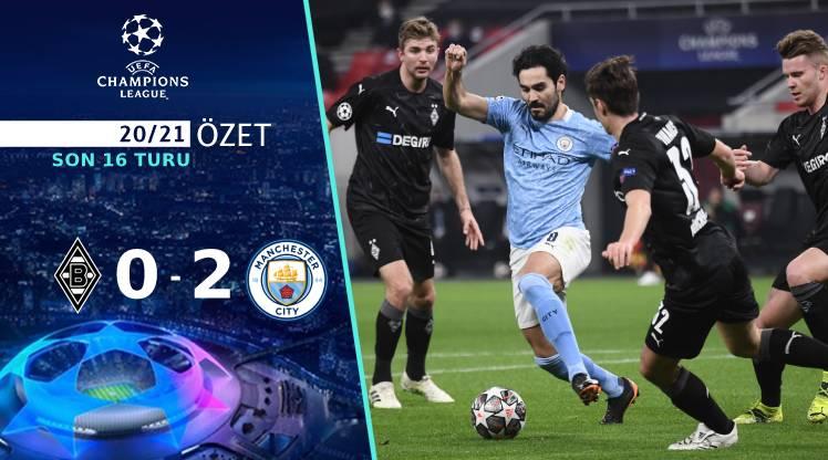 M'gladbach Manchester City maç özeti