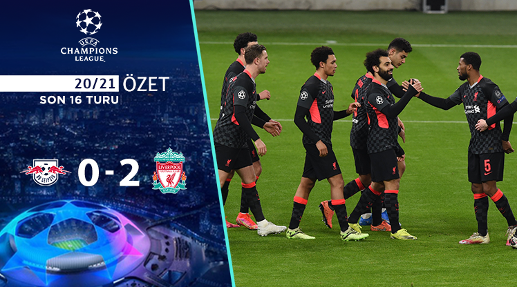 RB Leipzig Liverpool maç özeti