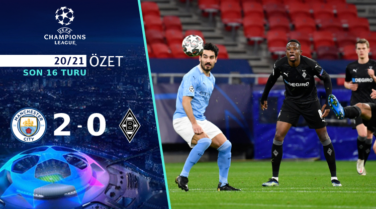 Manchester City M'gladbach maç özeti