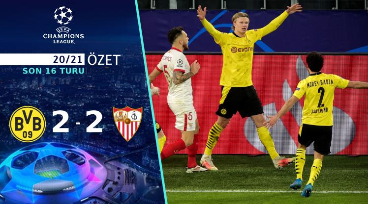 Borussia Dortmund Sevilla maç özeti