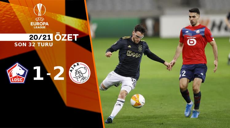 Lille Ajax maç özeti