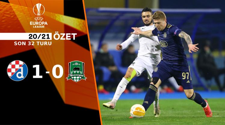 Dinamo Zagreb FC Krasnodar maç özeti