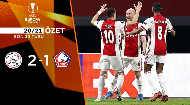 Ajax Lille maç özeti