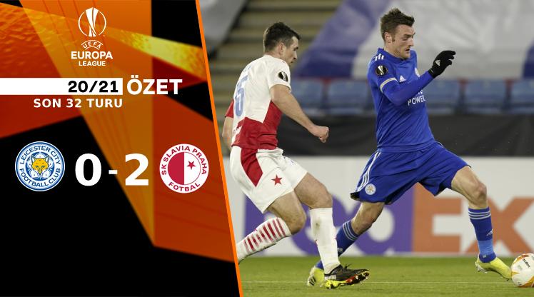 Leicester City Slavia Prag maç özeti